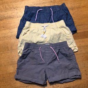 Old Navy 3 Girl's Shorts Bundle